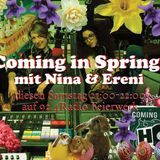 Coming in Spring21.March2015, with Nina und Ereni