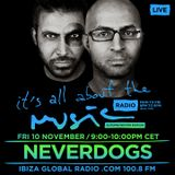 Neverdogs - Live @ It's All About the Music, Ibiza Global Radio (Ibiza, ES) - 10.11.2017