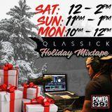 DJ Qlassick Live on Power99 FM Xmas Eve (12/24/17)