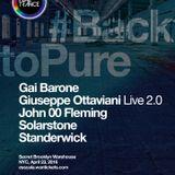 John OO Flemming Live @ Back to Pure @ Secret Warehouse, Brooklyn, New York USA 23-04-2016