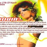 Dj Anakyn @First time play @ creamm - movin creamm    WITH MIKE THOMPSON 27 03 2009  (vinyls only )