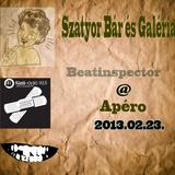 Beatinspector @ Szatyor Bár és Galéria - 2013.02.23. -  Apéro