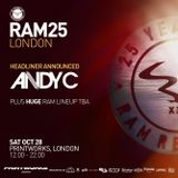 Andy C - RAM 25 - Printworks (compressed for phone)