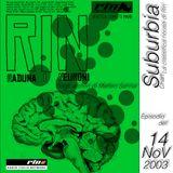 SUBURBIA CHART Edizione del 14 Novembre 2003 - RIN RADIO ITALIA NETWORK