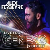 DJ ALEX FERBEYRE - GENESIS 2017 (Live recording 01-01-17)