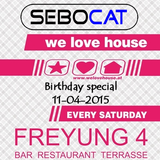 Sebocat - live @ we love house - Freyung 4 // 11-04-2015