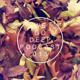 We Go Deep #013 podcast mixed by Dry & Bolinger