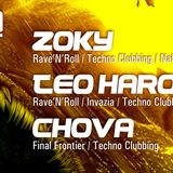 Techno Clubbing w/ TEO HAROUDA @ GJURO 2, Subota, 09.03.2013.