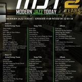 Holiday Edition of Modern Jazz Today - Episode #148 - The Week of December 3, 2018