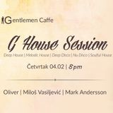Mark Andersson - G House Session Vol.1 (Live @ Gentleman Caffe)