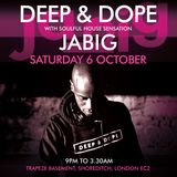 DJ JaBig Live in London, UK on Saturday, October 6th 2018 (Preview DJ set)