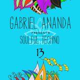 Gabriel Ananda Presents Soulful Techno 13 - Gabriel Ananda