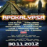 K.Sandra - Live at Apokalypsa #35 Mayan Code (30.11.2012)