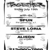 DJ Spun from San Francisco recorded Live at Together in Downtown Los Angeles on July 19th 1996