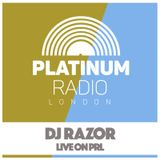 DJ Razor / 14th March 2016 @ 4pm - Recorded Live on PRLlive.com