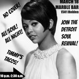Dan Austin & Erica Aytes: Northern soul 45s & floor fillers @ Marble Bar, Detroit - March 18, 2017