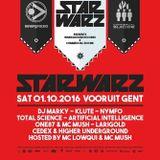 Larigold @ Star Warz 01/10/2016  (Vooruit , Gent , Belgium)