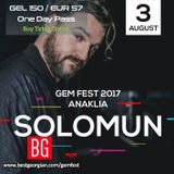 Solomun - Live @ GemFest 2017 AfterParty (Anaklia) - 04-08-2017