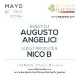 Nico B & Augusto Angelici @ Groove Garden Radio Experience | 2014_05_12