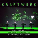 Kraftwerk - Northrop, Minneapolis, 2015-10-07