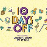 Robag Wruhme @ 10 Days Off - The Last Waltz - Day 05 - Belgium 21-07-2014