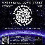 Universal Love Tribe podcast 5 - RABO (Austria)