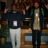 Aaron Hakim Eil and Ahanu Wajih Bey At the working Group on Peoples of African Descent in D.C12716