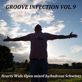 Dj Andreas Schwintz - Hearts Wide Open (Groove Infection Vol. 9 - autumn 2013)