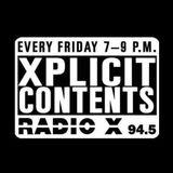 Dj kg at X-plicit contents on radio X ( 22.04.16) part 1