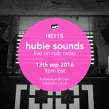 Hubie Sounds 115 - 13th Sep 2016
