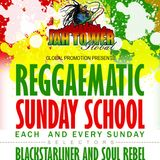V's hideaway reggaematic sunday school first night.
