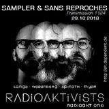 "RADIO S&SR Transmission n°1124 -- 29.10.2018 (Top Of The Week ""RADIOAKTIVISTS"")"