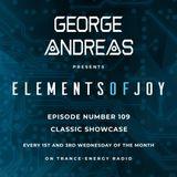 George Andreas - Elements of Joy 109 (Classic Showcase)