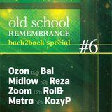Midlow B2b Reza feat. MC Blu ID - Old School Remembrance #6 live set