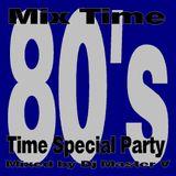 Dj Master V - Mix Time 80's Time Special Party (Novembre 2003)