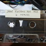 [ARCHIVE 1993 ] Débat l'élection du BDE de l'UTC en A93