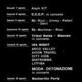 Aleph - 08 1983, DJ Achille