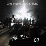 AFTERHOURS UNDERGROUND 07 Mixed by Buddhafish