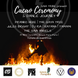 BASE FM INTERVIEW: Conscious Partying & Cacao Ceremony Insight Feat. RIA & Franko Heke