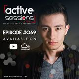 Active Sessions Live #069 By Mike Sang