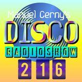 Manuel Cerny's DISCO Radioshow (216) - Hola FM Radio Fuerteventura