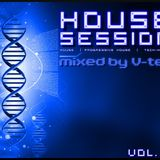 House Session vol.16  [mixed by V-tek]