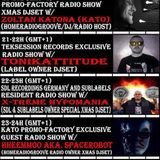 20161220 23-24h (gmt+1) KATO PrOmO-Factory Exclusive Guest Radio Show w/Hheemmoo aka.spacerobot