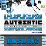 ARSONIC Liveset @ AUTHENTIC II (Strasbourg) I6.4.2oI6