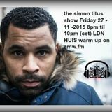 the Simon Titus Show Invites Louie Anderson / Nightshift 8pm -9pm 27th Nov 2015