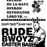 De La Haye & MC JP - vinyl set at Rude Bwoyz - 2007