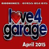 LUKEY LOVE 4 GARAGE P - APRIL 2015 (192kbps)