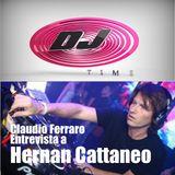 Capo Ferraro Entrevista a Hernan Cattaneo en el Dj Time