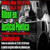 Ribon en Justicia Poética