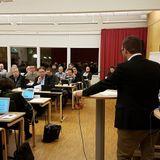 Oskarshamns kommuns fullmäktigesammanträde 13 november 2017.